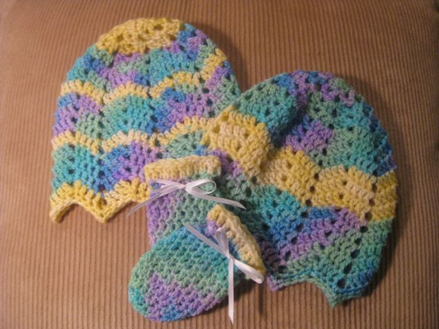 Baby Ripple Hat Crochet Pattern Toastyfrog